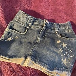 1989 Place Girls Jean Skirt Size 10